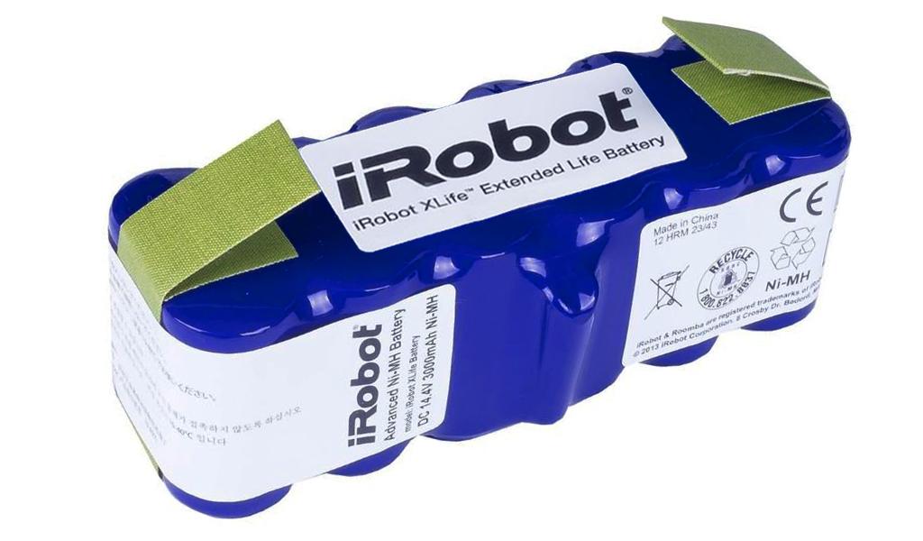 Dettagli su Originale Xlife Esteso Vita Batteria iRobot Roomba 500 600 700 800 & Scooba 450
