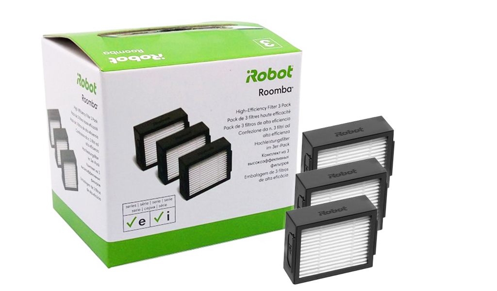 Original High Efficiency Filter 3 Pack Irobot Roomba E I Series E5 E6 I7 I7 Ebay